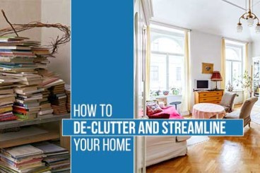De-Clutter and Streamline Your Home