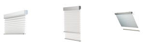 MOTORISED PLEATED BLINDs