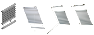 SKYLIGHT PLEATED BLINDs